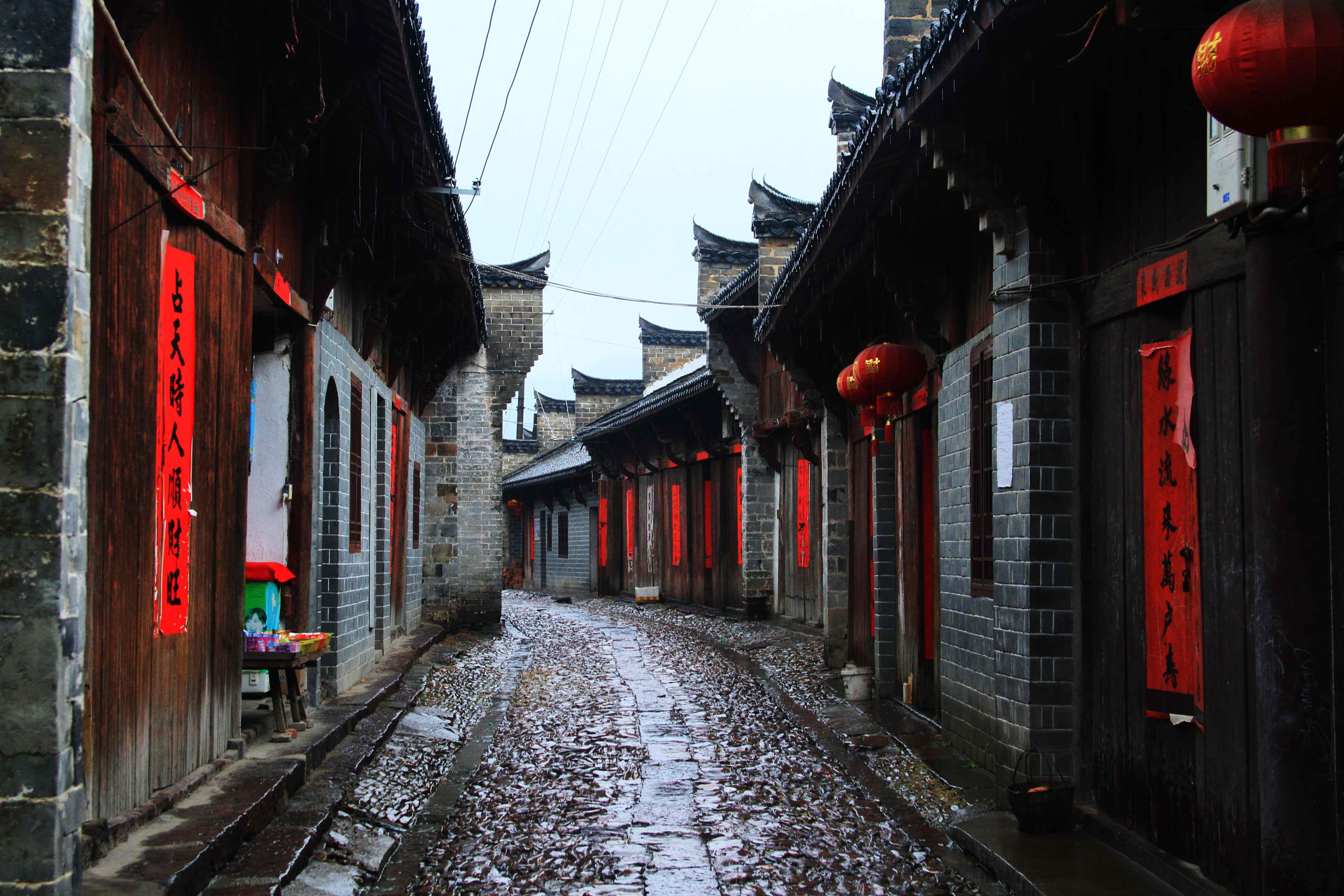 毛坦厂明清老街